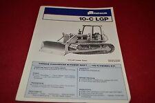 Fiat Allis Chalmers 10-C LGP Crawler Dozer Dealer's Brochure YABE7