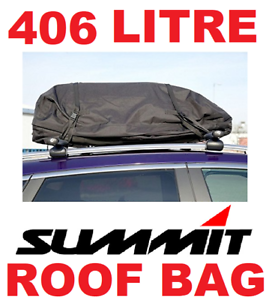 Summit 406 Litre Fully Waterproof Car Roof Bag Extra Large SUM-831