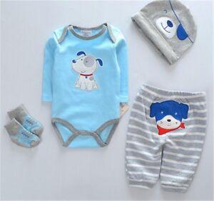 Cute 22 Reborn Baby Dolls Clothes Newborn Baby Boy Doll Clothes Romper Clothing Ebay