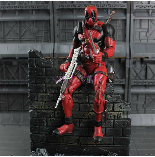 Marvel Select Universe Deadpool Action Figure Figurine Collection NEW Doll Model