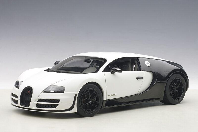 Bugatti Veyron 16.4 Super Sport Pur Blanc Edition 1 18 Autoart 70933 NEW RELEASE