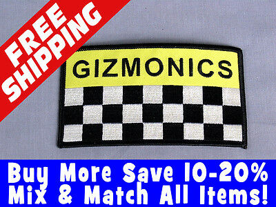 MST3K Gizmonics Logo Iron-On Patch - Mystery Science Theater 3000