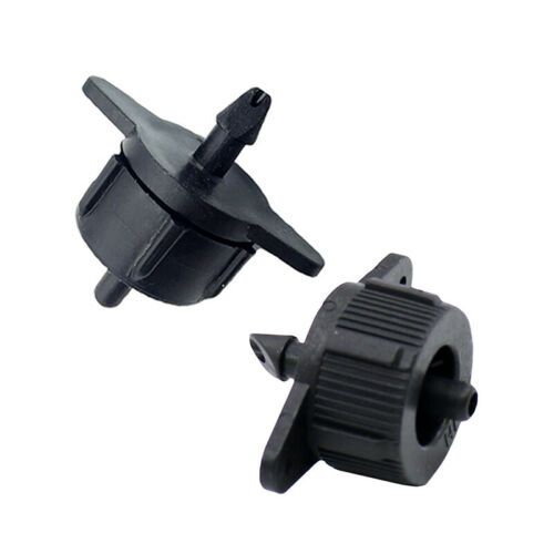"""200PCS 2L 1//4/"""" Pressure Compensated Dripper for Uneven Ground Irrigation Hilly"""