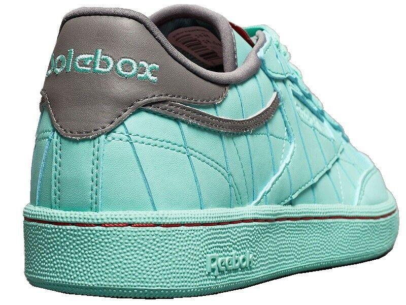 reebok Club C CN Solebox aqua Sneaker AR3618 classic Turnschuhe Tennisschuhe