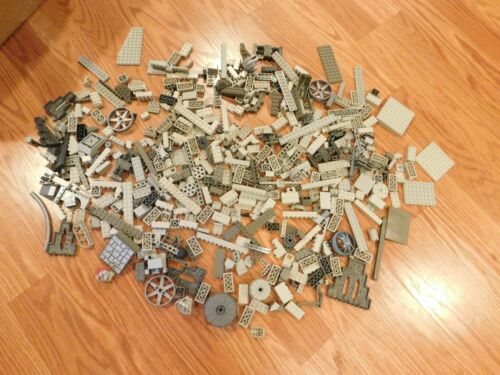 1lb of Assorted GRAY Lego Bricks /& Parts /& Pieces Sold in Bulk by the Pound GREY