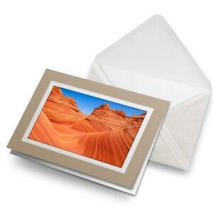 Greetings-Card-Biege-Arizona-Desert-Landscape-Utah-USA-16943