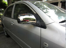 Rearview Side Mirrors Mirror Cover trim for Toyota 07-11 Yaris 04-09 Prius