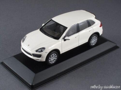 Typ 92A weiß 2010 WAP0200040B 1//43 Minichamps Porsche Cayenne S hybrid