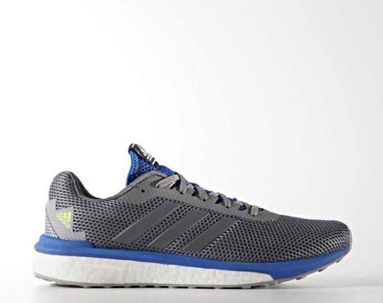 Adidas Vengeful Boost Grey Blue Mens Sz 14 Walking Sneakers Running Shoes BB1631