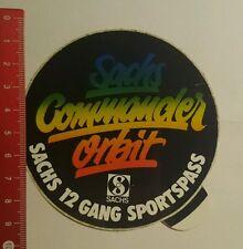 ADESIVI/Sticker: Sachs Commander Orbit (150716140)