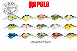 Rapala-DT-6-Crankbait-DT06-Basla-Wood-Dives-to-6-ft-2in-3-8oz-Pick