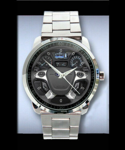 neu-2019-mw-F2014-Ford-transit-steering-wheel-Sportuhr-Sport-Metal-Watch