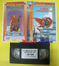 film VHS L'UOMO RAGNO E SUOI FANTASTICI AMICI Il gioco appassionante (F60)no dvd