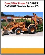 Case 580k Phase 3 Tractor Loader Backhoe Service Repair Manual