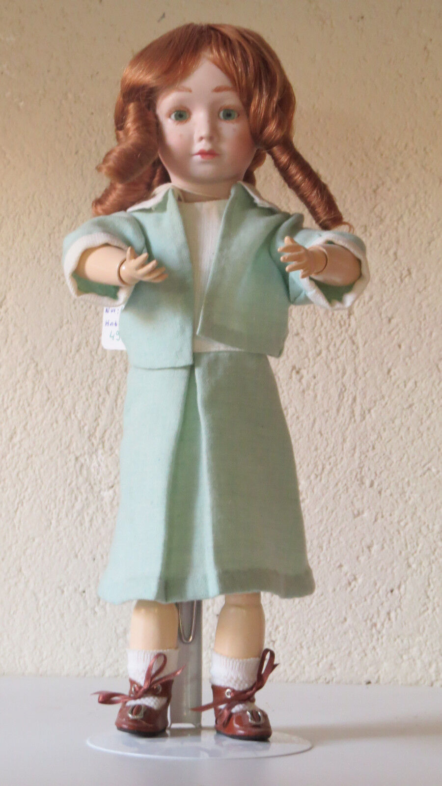 NANE  Animée  35 CM    Poupée Porcelaine  creation  Doll 7c4578