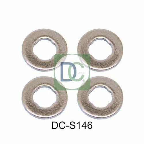 Seals Pack of 4 Alfa Romeo Mito 1.3 Bosch Common Rail Diesel Injector Washers