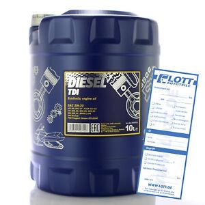 mannol 10l motor l diesel tdi 5w 30 motoren l f r mercedes. Black Bedroom Furniture Sets. Home Design Ideas
