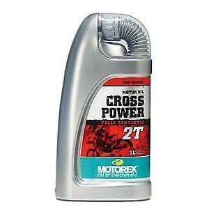 Details About Motorex Cross Power 2 Stroke Fully Synth Oil 1 Litre Kawasaki Kx125 Kx 125