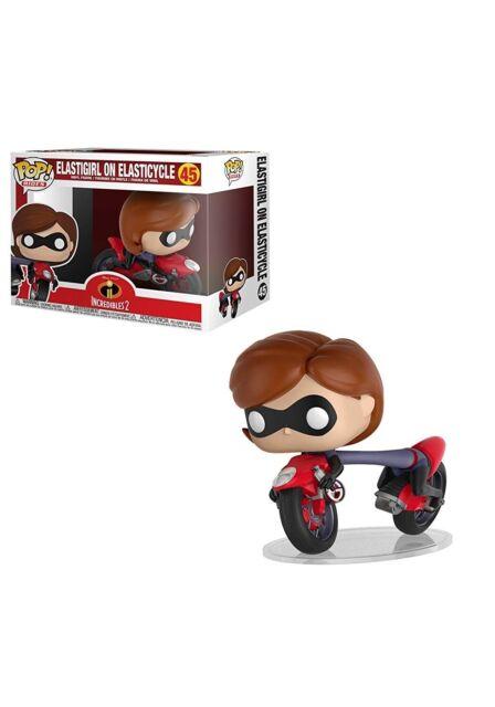 Funko - POP Rides: Incredibles 2 - Elastigirl on Elasticycle Brand New In Box