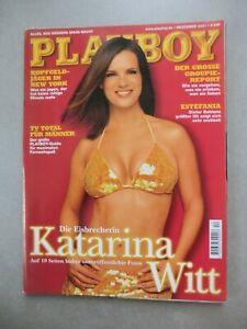 PLAYBOY (D) Nr. 12 Dezember 2001 KATARINA ( KATI ) WITT