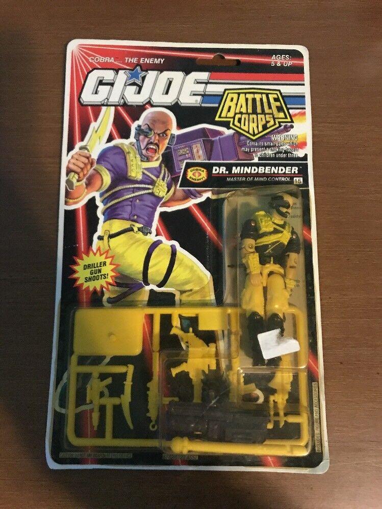 GI Joe Dr. Mindbender 3.75  azione cifra 1992  MOC Hasbro Cobra Battle Corps  fino al 60% di sconto
