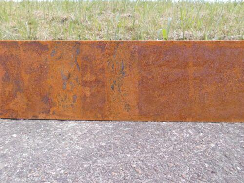 Lien Corten acier pour pelouse kantenband connexion paroi Pelouse