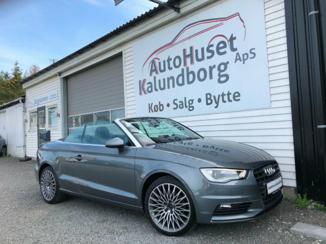 Audi A3 2,0 TDi 150 Attraction Cabrio Diesel modelår 2015…