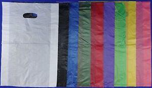 High-Density-Plastic-Merchandise-Bag-12-034-x3-034-x18-034-Variety-of-Colors-amp-Quantities