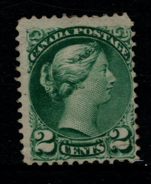 Canada 1870 1888 Queen Victoria 2c Two Cents SG77 Sc36 Unused see note