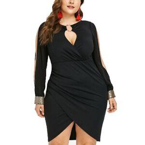 Vestidos Talla Grande Para Fiestas De Noche Cortos Elegantes Tarta Grandes Xl Xxl Ebay