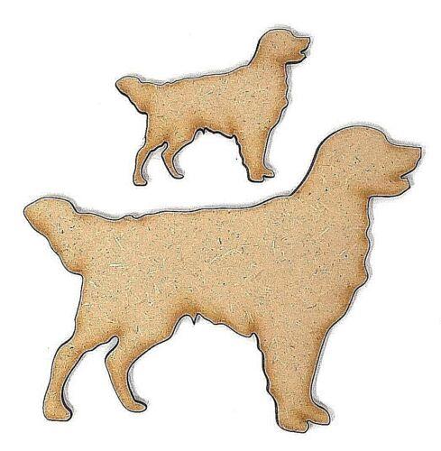 Golden lab Labrador Dog Craft Shape embellishment Dog Shape Golden Retriever