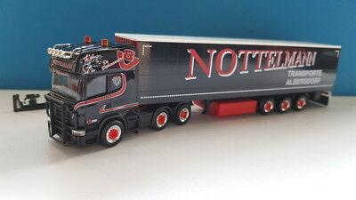 1//87 Herpa Scania R TL Gardinenplanen SZ Nottelmann 308496