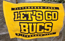 "PITTSBURGH PIRATES"" LETS GO BUCS ""  FAN TOWEL"