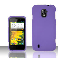 For Straight Talk ZTE Majesty 796C Rubberized HARD Case Snap On Phone Cover