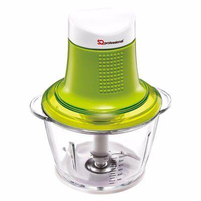 600ml MINI BLITZ Electric Food Chopper Frutta Verdura Cipolla AFFETTATRICE CUBETTATRICE Verde