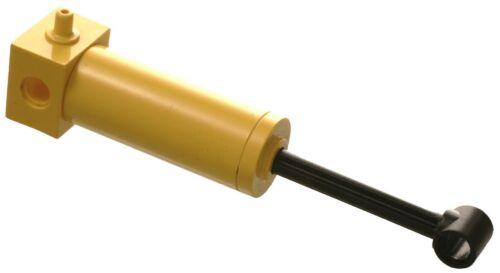 Manca LEGO Brick 4688c01 Yellow Technic Cilindro Pneumatico VECCHIO 48mm con Nero