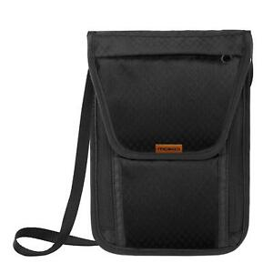 MoKo-RFID-Block-Passport-Card-Holder-Neck-Stash-Pouch-Security-Travel-Wallet-Bag