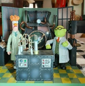 Palisades Beaker Muppet Labs with Dr Bunsen Honeydew Check ...