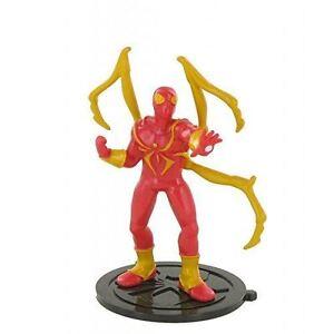 Marvel-Stahl-Spiderman-Spielzeug-Figur-Kuchen-Topper