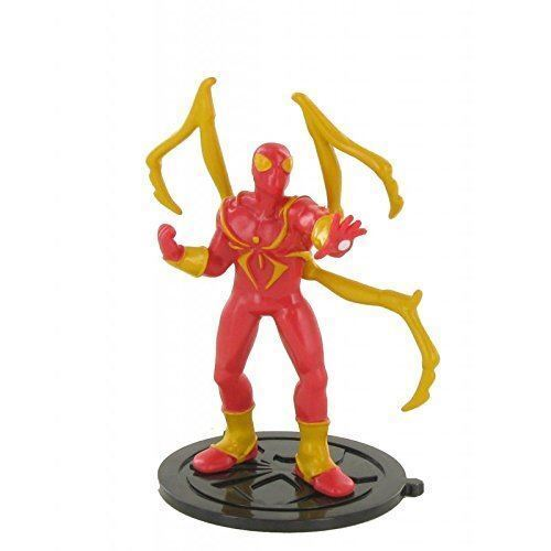 Marvel Iron Spiderman toy figure cake topper