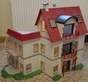Playmobil 4279 ~ modernes Wohnhaus mit Erweiterung A,B und C | eBay
