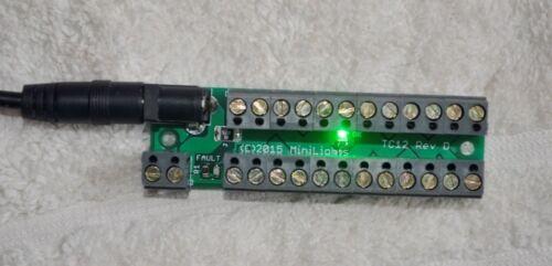 Conector De Iluminación De Casa De Muñecas Iluminación Dollshouse Cableado En Miniatura