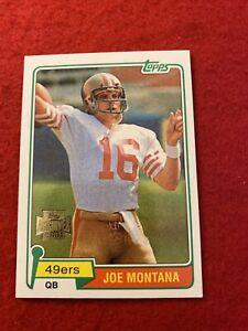 2001 Topps Archives Joe Montana #40