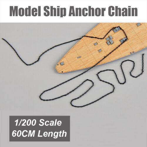 1//200 Maßstab Modell Schiff Anchor Kette Schlachtschiff Modell Panzerkette 60CM