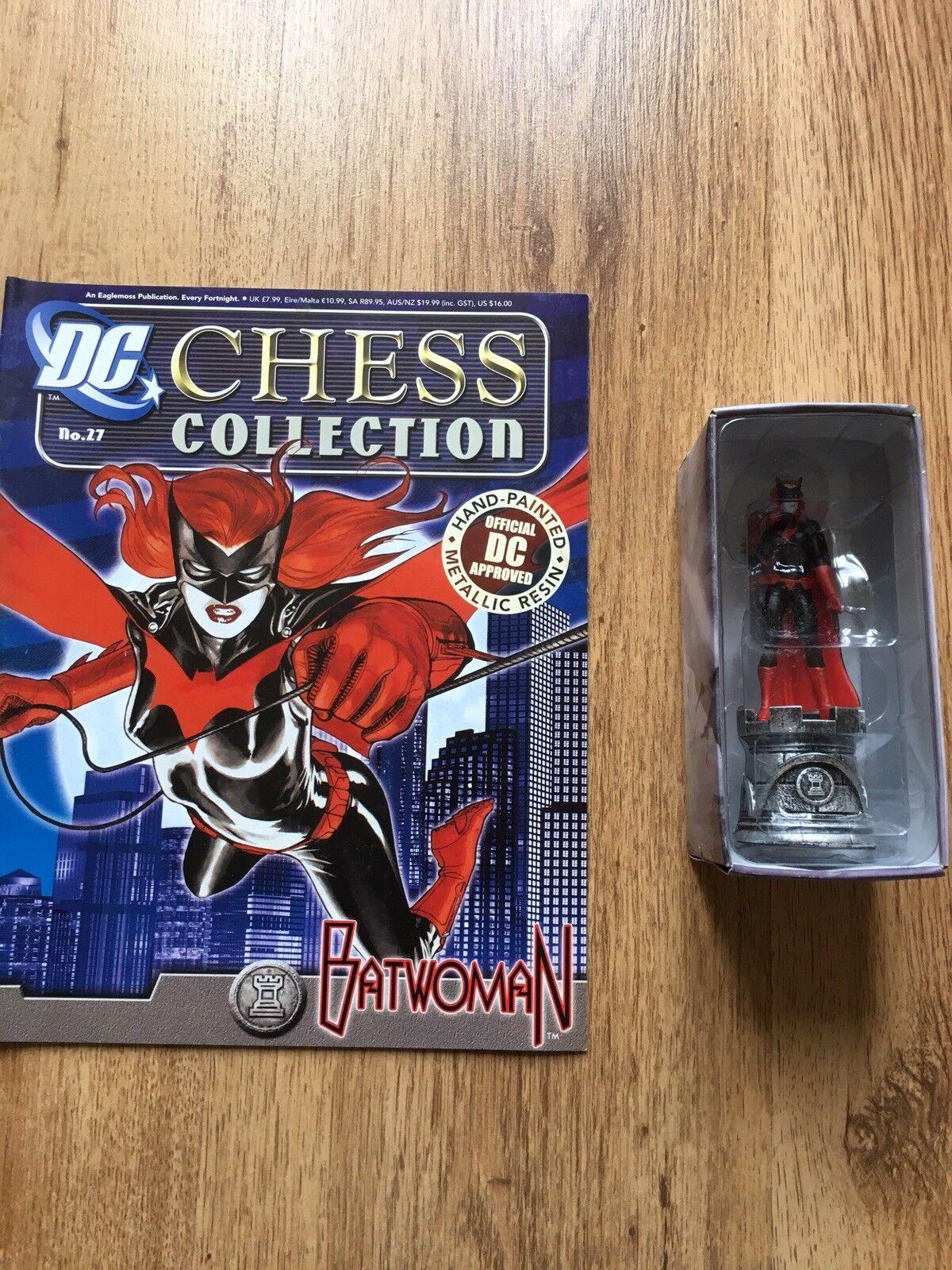 Eaglemoss Batman Chess Set Batwomen Issue 27 Set 1 Dc Chess