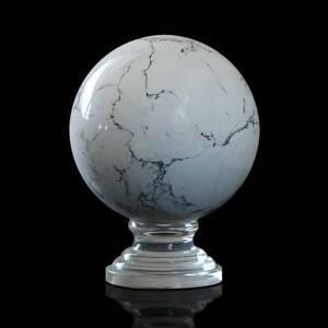 Sfera Pietra Dura Semipreziosa Con Base Semiprecious Hard Stone Sphere D.12cm Demand Exceeding Supply Art Sculptures
