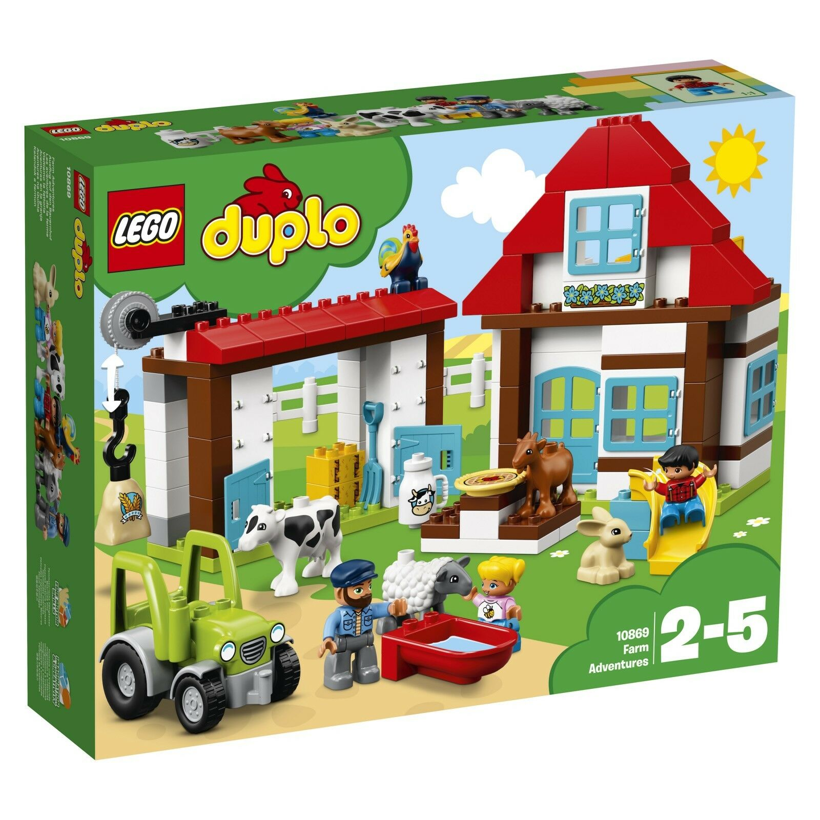 LEGO ® DUPLO ® 10869 excursion sur la ferme