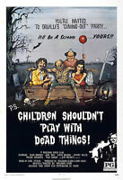 Children Shouldn't Play With Dead Things Movie Poster - 1972 - Horror - 1 Sheet