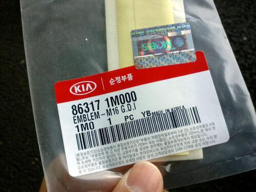 Genuine Kia All new Cerato//Forte rear trunk GDI Emblem