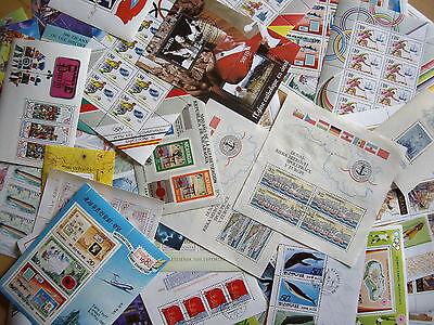 Warnen 25 Verschiedene Blöcke/kleinbögen Aus Aller Welt Lot/posten Motiv Reichhaltiges Angebot Und Schnelle Lieferung Lots & Sammlungen Diverse Philatelie